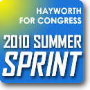 2010 Summer Sprint Fundraising Drive